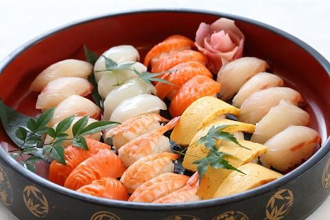 お盆期間限定_握り寿司