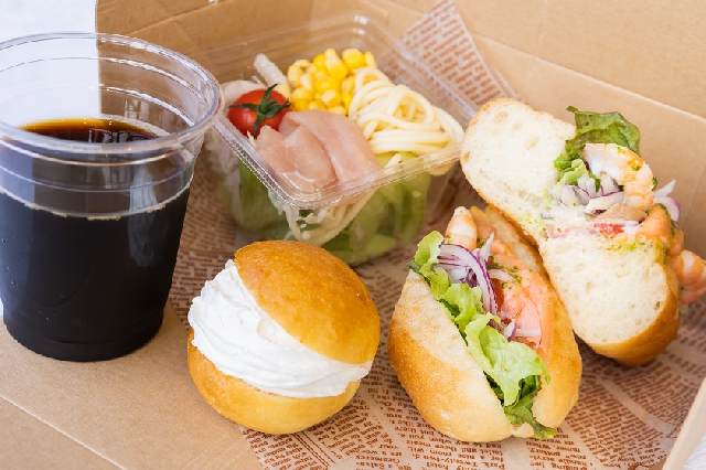 ◆選べる朝食◆デリカテッセン イートイン、テイクアウトも可能!