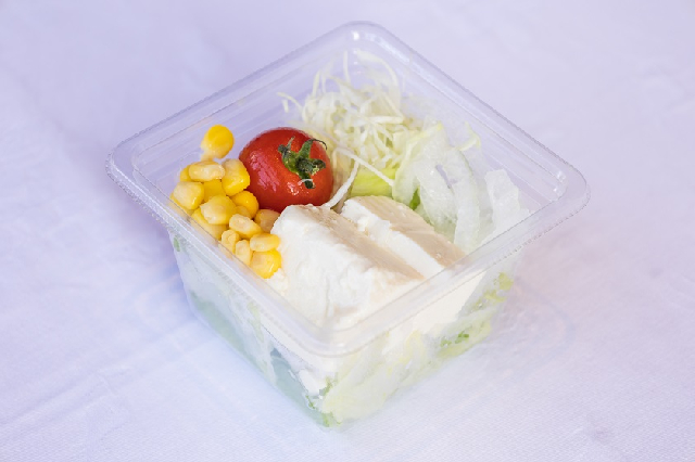 ◆選べる朝食◆-豆腐サラダ- 日替わりで2種類のサラダをご用意しています!お好きなものを1つお選びください☆ ※写真はイメージです