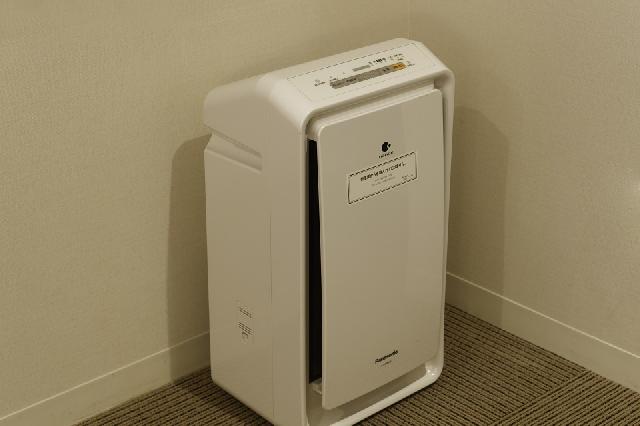 全室に加湿機能付き空気清浄機を設置しております