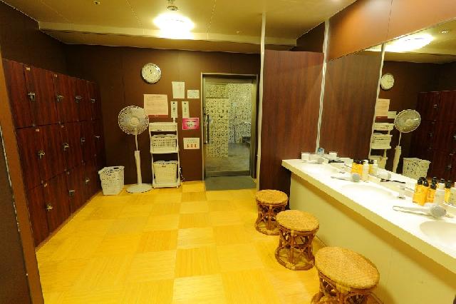 ◇大浴場脱衣所(女湯)