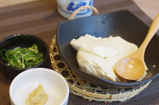 お豆腐は自家製です★   ※写真はイメージです。