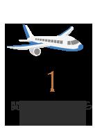 関西国際空港から軽快アクセス